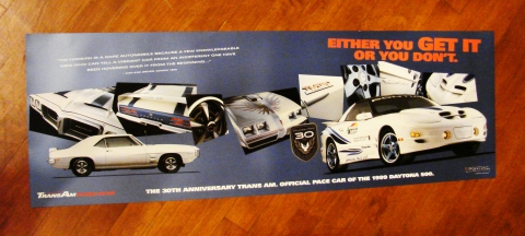 30th Anniversary Trans Am Get it Poster